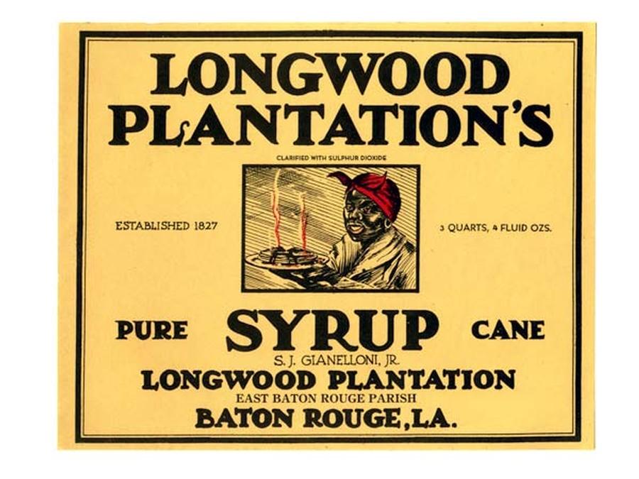 Longwood Syrup label
