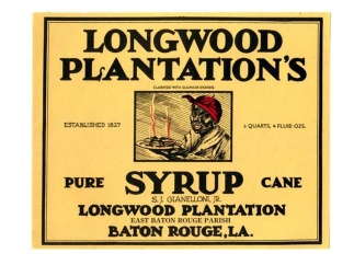Longwood Syrup label